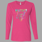 Spectrum - 884L Anvil Ladies' Ringspun Long-Sleeve T-Shirt