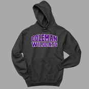 Distressed - 996 Jerzees Adult 8oz. 50/50 Pullover Hooded Sweatshirt