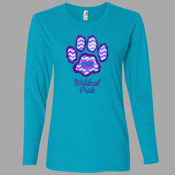 Pride - 884L Anvil Ladies' Ringspun Long-Sleeve T-Shirt