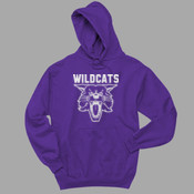 Cat-Flock - 996 Jerzees Adult 8oz. 50/50 Pullover Hooded Sweatshirt
