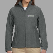 EMB - M990W Harriton Ladies' 8oz. Full-Zip Fleece