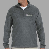 EMB - M980 Harriton Quarter-Zip Fleece Pullover